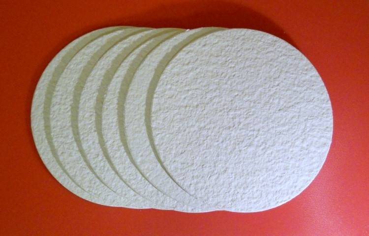 6 Wine Filter Pads Sterile 8 75 Quot Round For Vintage Shop