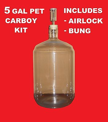 Twin Bubble Airlock And Carboy Bung Home Brewing Fermentation Wine Making 2 Pack