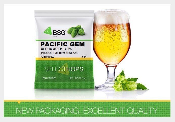 Pellet Hops Pacific Gem NZ